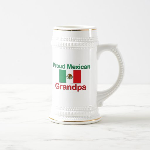 Proud Mexican Grandpa Mugs