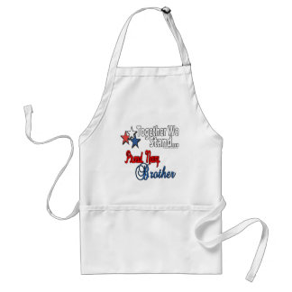 Proud Military Brother Aprons