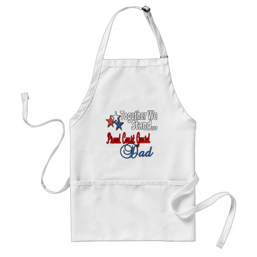 Proud Military Dad Apron