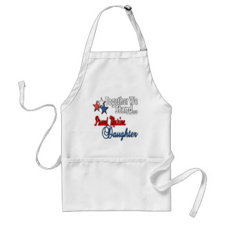 Proud Military Daughter Adult Apron