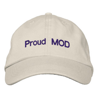 Proud MOD Embroidered Hats