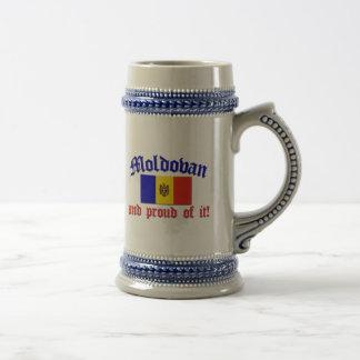 Proud Moldovan Beer Stein