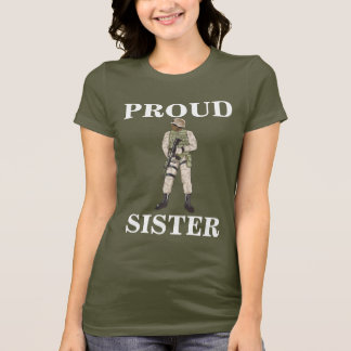 PROUD MOM MILITARY TSHIRT
