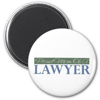 Proud Mom Of A Lawyer 6 Cm Round Magnet