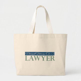 Proud Mom Of A Lawyer Canvas Bags