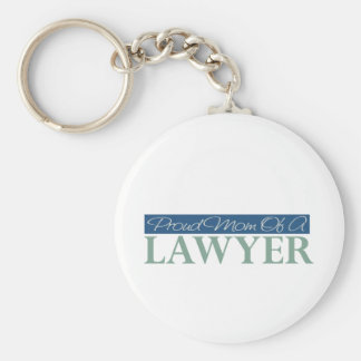 Proud Mom Of A Lawyer Key Ring