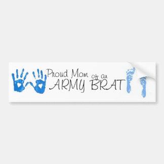 proud mom of an army brat bumper sticker