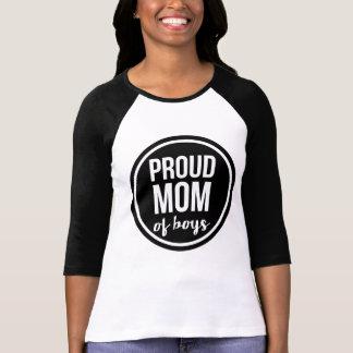 Proud Mom of Boys Raglan T-Shirt