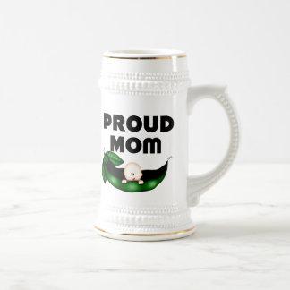 Proud Mom (Peapod) Coffee Mugs
