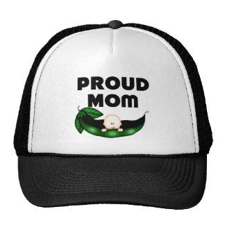 Proud Mom (Peapod) Mesh Hats