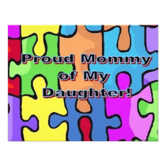 Proud Mommy of My Daughter Announcement