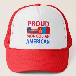 Proud Mongolian American Trucker Hat