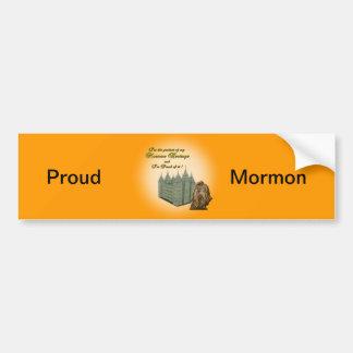 Proud Mormon Sticker
