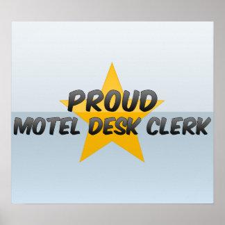 Proud Motel Desk Clerk Print