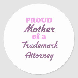 Proud Mother of a Trademark Attorney Sticker