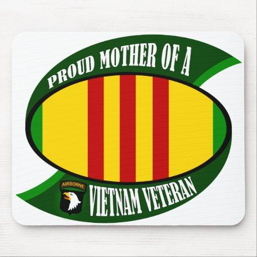 Proud Mother Vietnam Veteran Mousepads