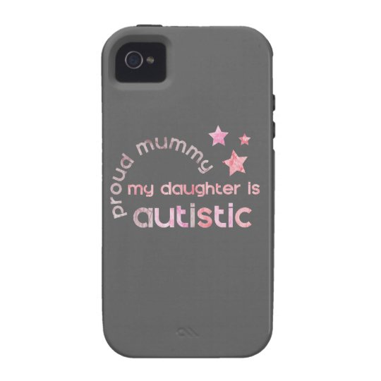 Proud Mummy My daughter is Autistic iPhone 4/4S Case