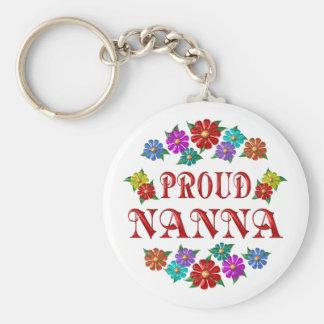 PROUD NANNA KEY CHAINS