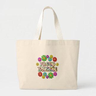 Proud Nannie Large Tote Bag