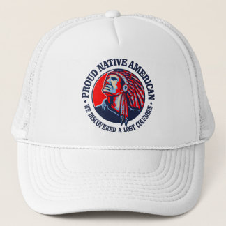 Proud Native American 2 Trucker Hat