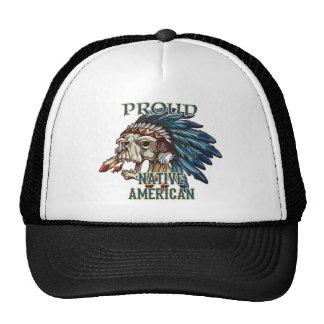 Proud Native American Trucker Hats