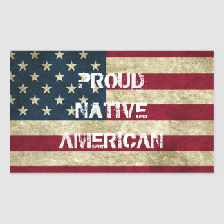 Proud Native American Sticker