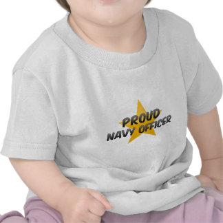 Proud Navy Officer Tshirt
