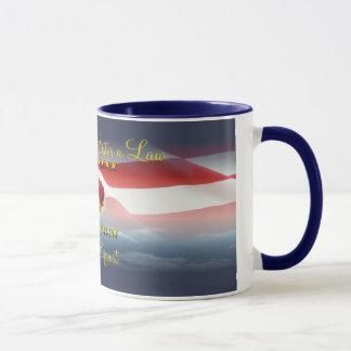 Proud Navy Sister N Law Mug