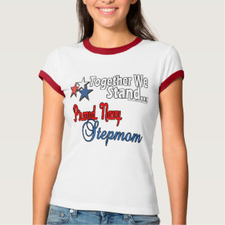 Proud Navy Stepmom T-Shirt