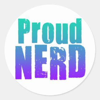 proud nerd stickers