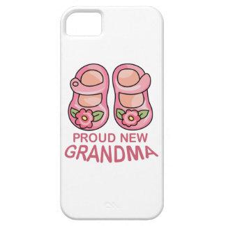 PROUD NEW GRANDMA iPhone 5 CASES