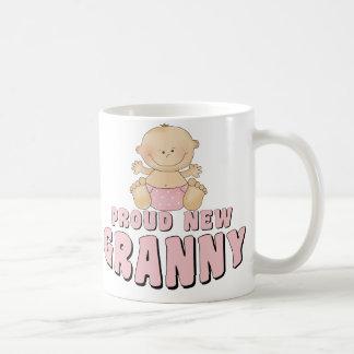 PROUD NEW Granny T-Shirt Basic White Mug