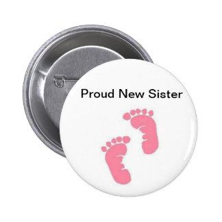 Proud New Sister Pin