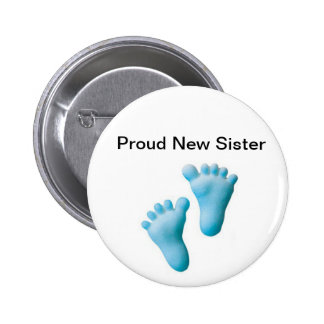Proud New Sister Buttons