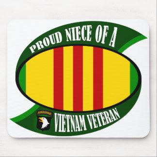 Proud Niece - Vietnam Vet Mouse Pad