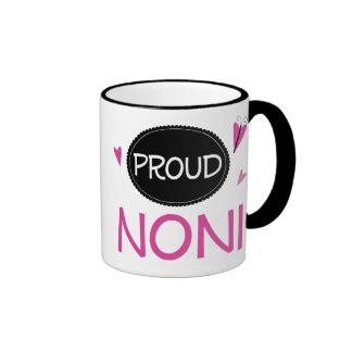 Proud Noni Ringer Mug