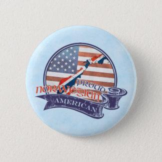 Proud Norwegian American Badges