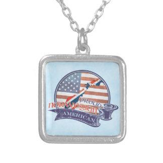 Proud Norwegian American Pendant