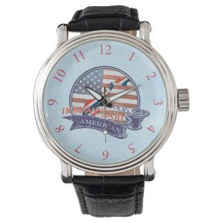 Proud Norwegian American Watch