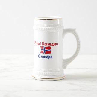 Proud Norwegian Grandpa Beer Steins
