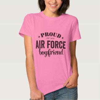 Proud of my AIR FORCE boyfriend Tee Shirts