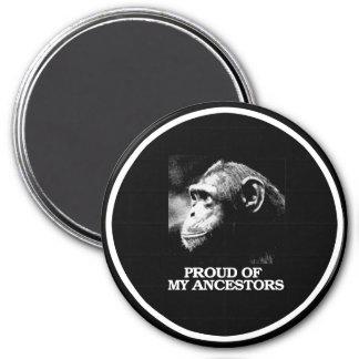 Proud of My Ancestors - Evolution - - Pro-Science  Magnet