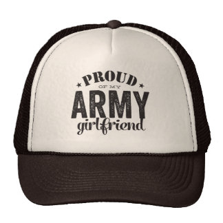 Proud of my ARMY girlfriend Cap