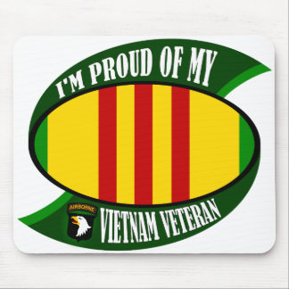 Proud of My Vietnam Vet Mouse Pad