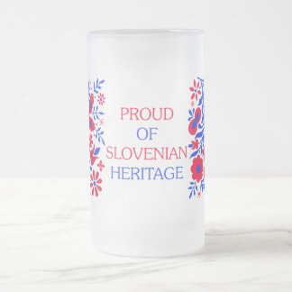 Proud Of Slovenian Heritage Mug