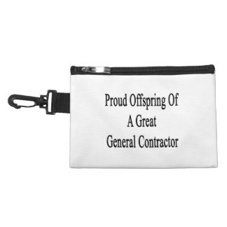 Proud Offspring Of A Great General Contractor Accessories Bags
