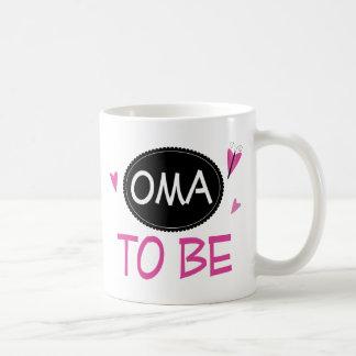 Proud Oma to Be Coffee Mug
