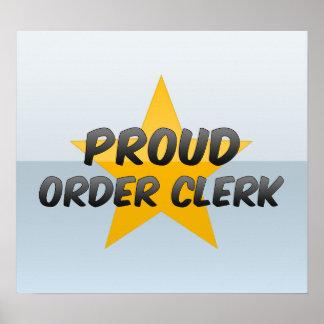Proud Order Clerk Print
