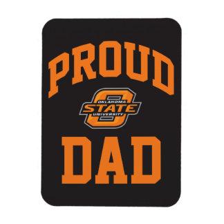 Proud OSU Family - Orange Vinyl Magnet
