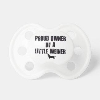 Proud Owner of a Little Weiner Dummy